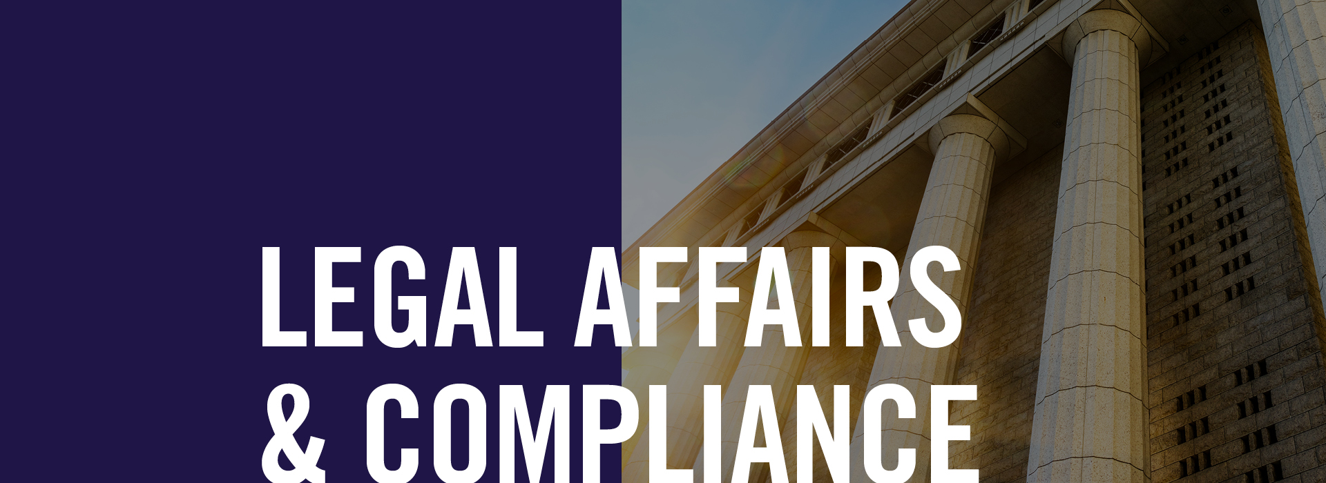 Legal Affairs and Compliance